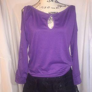 Tops - 2/$15 cold shoulder blouse